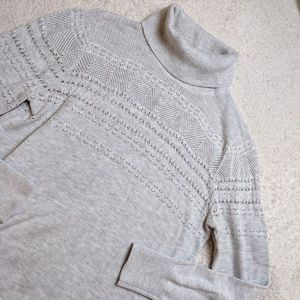 Banana Republic Cozy Grey Turtleneck